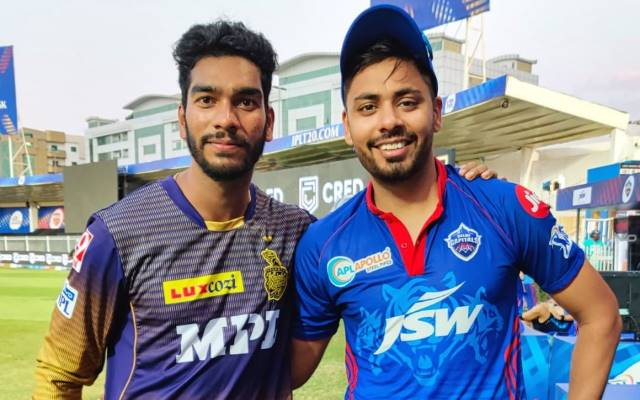 Venkatesh Iyer And Avesh Khan (Photo Source:Instagram/Kolkata Knight Riders)
