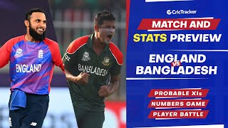 T20 World Cup 2021 - Match 20, England vs Bangladesh, Predicted Playing XIs & Stats Preview