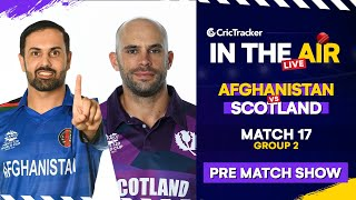 T20 World Cup Match 17 Cricket Live - Afghanistan vs Scotland Pre Match Analysis #T20WC