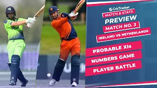 T20 World Cup 2021 - Match 3, Ireland vs Netherlands, Predicted Playing XIs & Stats Preview