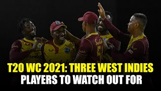 T20 World Cup 2021: Three West Indies players to watch out for