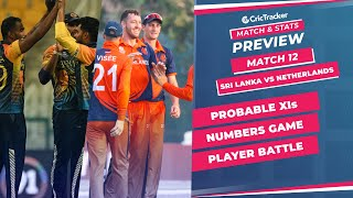 T20 World Cup 2021 - Match 12, Sri Lanka vs Netherlands, Predicted Playing XIs & Stats Preview