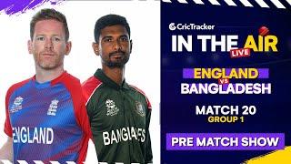 T20 World Cup Match 20 Cricket Live - #ENGvBAN Pre Match LIVE #T20WC