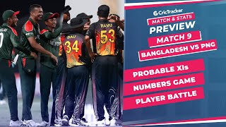 T20 World Cup 2021 - Match 9, Bangladesh vs Papua New Guinea, Predicted Playing XIs & Stats Preview