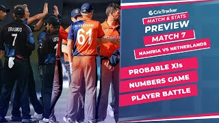 T20 World Cup 2021 - Match 7 Namibia vs Netherlands, Predicted Playing XIs & Stats Preview