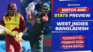 T20 World Cup 2021 - Match 23, West Indies vs Bangladesh, Predicted Playing XIs & Stats Preview