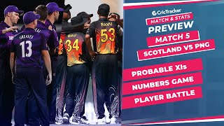 T20 World Cup 2021 - Match 5, Scotland vs  Papua New Guinea, Predicted Playing XIs & Stats Preview