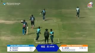 RED BULL CAMPUS CRICKET 2021 INDIA FINALS BHUBANESWAR vs HYDERABAD