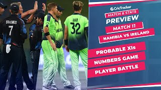 T20 World Cup 2021 - Match 11, Namibia vs Ireland, Predicted Playing XIs & Stats Preview