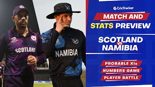 T20 World Cup 2021 - Match 21, Scotland vs Namibia, Predicted Playing XIs & Stats Preview