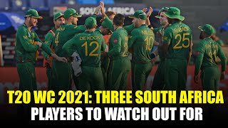 T20 World Cup 2021: Three South Africa players to watch out for
