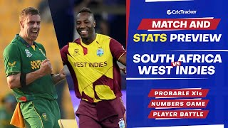 T20 World Cup 2021 - Match 18, South Africa vs West Indies, Predicted Playing XIs & Stats Preview