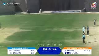 RED BULL CAMPUS CRICKET 2021 INDIA FINALS MEERUT vs BANGALORE