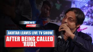 Shoaib Akhtar Walks Out Of Live Show Also Featuring Viv Richards After Being Called Rude